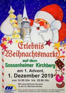 Sossenheimer Weihnachtsmarkt @ Sossenheimer Kirchberg